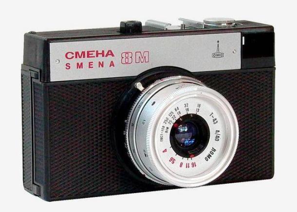 Smena 8m, a câmera da juventude russa - DxFoto