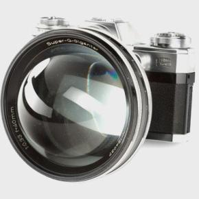 Carl Zeiss Super-Q-Gigantar 40mm f/0.33, já ouviu falar?