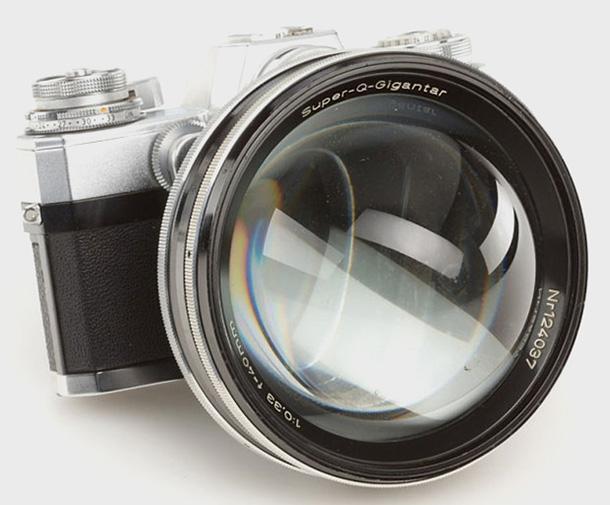 Carl Zeiss Super-Q-Gigantar - lensdiagonal - DXFoto