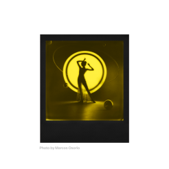 Polaroid Duochrome 600, instantâneos amarelo e preto 13