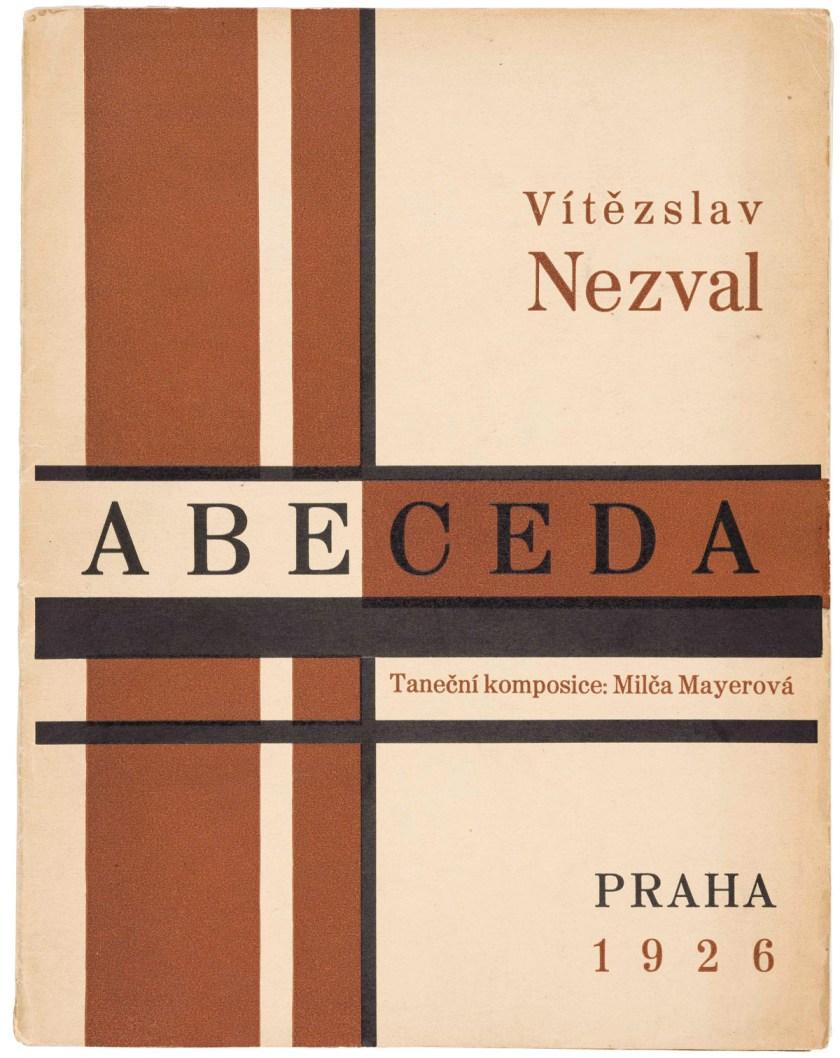 Karel Teige, portada de Abeceda,1926