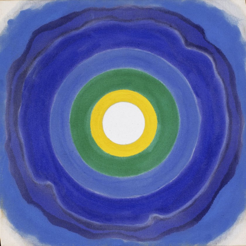 Kenneth Noland: April, 1960, The Phillips Collection, Washington, D.C., © The Estate Of Kenneth Noland / Vg Bild-Kunst, Bonn 2017