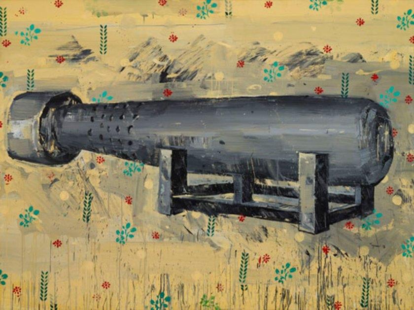 "Tagreed Darghouth, ""Untitled"" Acrylic On Canvas, 150 X 200 Cm, 2015 Courtesy Of Ramzi & Saeda Dalloul Art Foundation"