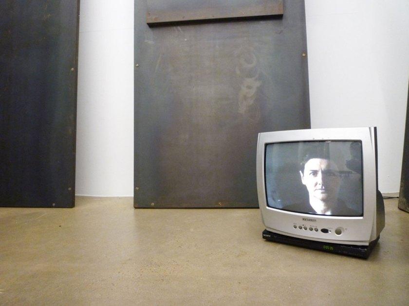 Ángeles Marco, Valencia 1947-2008 PRESENTE-INSTANTE instalacion completa, 1991. Cortesía Espaivisor