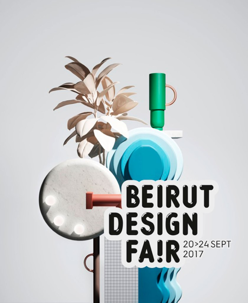 Beirut Desing Fair poster. Courtesy Beirut Design Fair