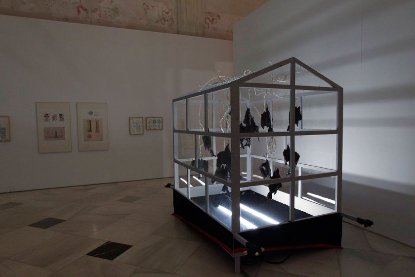 Vista de la instalación 'Arca de los fugitivos'. © Raúl Doblado
