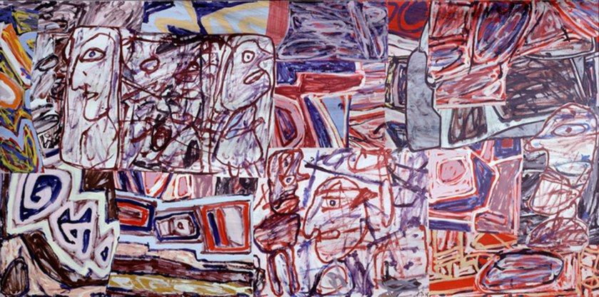 "Jean Dubuffet ""Vestiges and devenirs"", June 23, 1976."