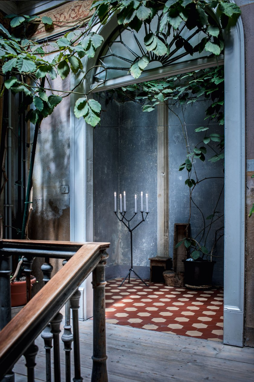 Floor and candle holder, Officina by Magis