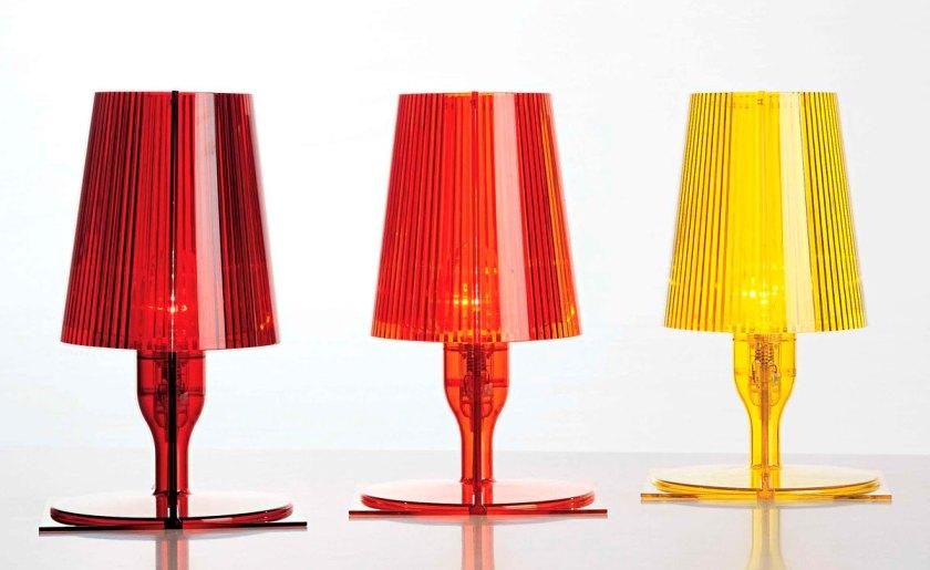 """""""Take tabel lamp"""" by Ferruccio Laviani"""