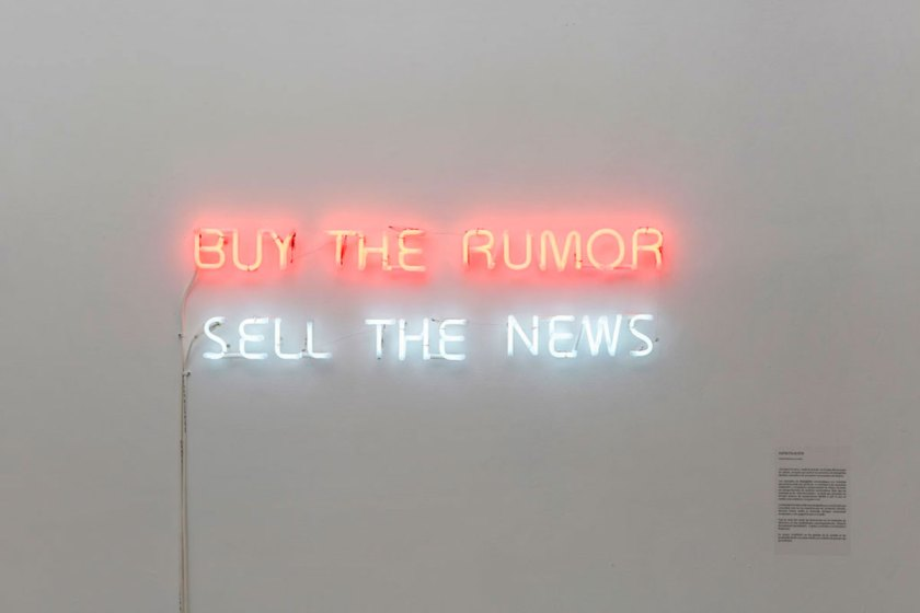 Buy the rumor, sell the news 2014