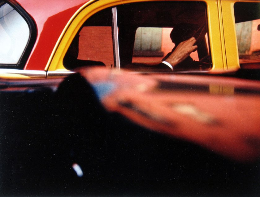 Saul-Leiter,-Taxi,-1957