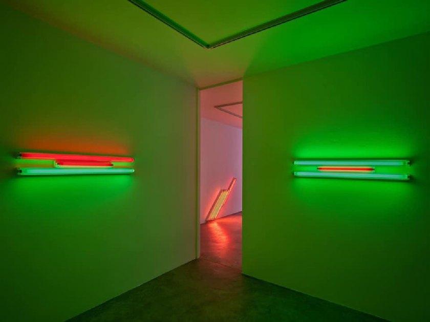 Cardi Gallery (Milán) © Dan Flavin