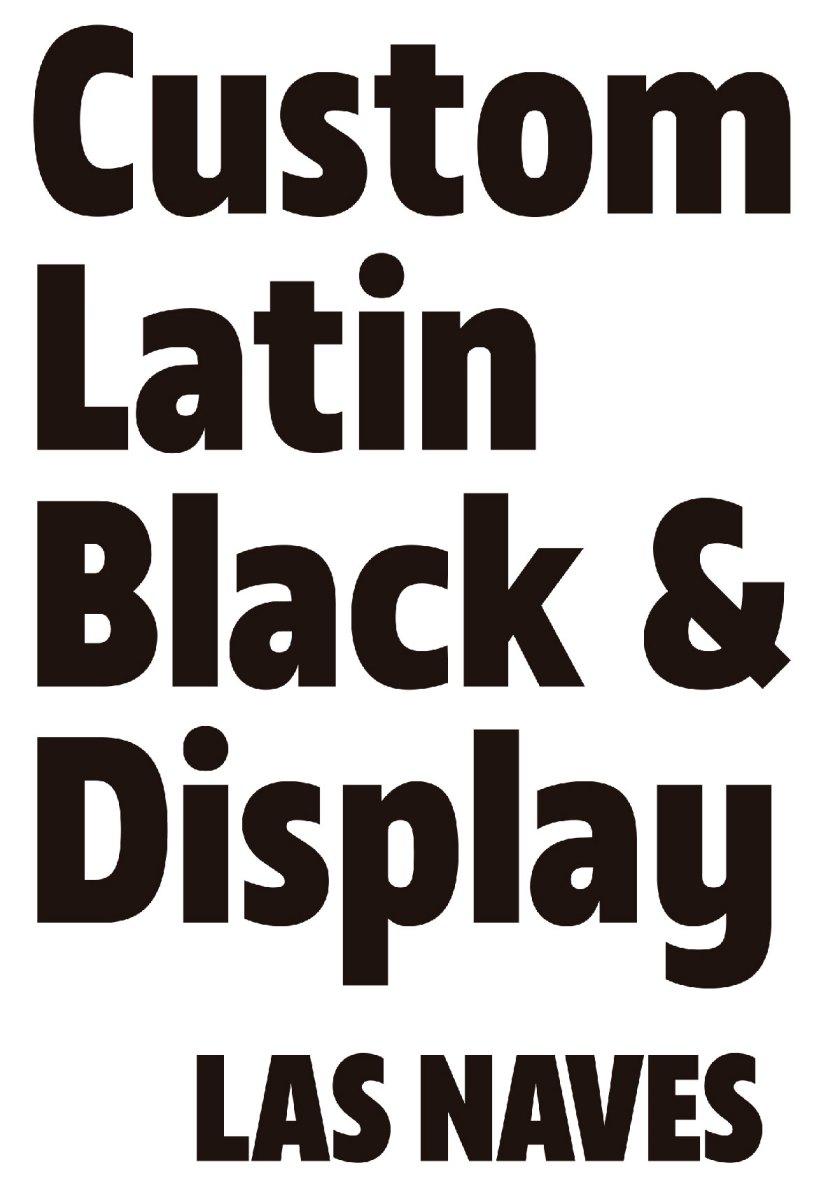 Título: Las Naves Condensed Black Cliente: Las Naves Diseño: Rafael Jordán Estudio: Sebastián Alós Dirección de arte: Sebastián Alós
