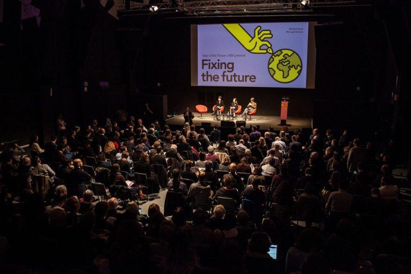 Arreglando el futuro Responsables del proyecto : Cathy Runciman Empresa : Atlas of the Future // Holaluz // CCCB, Aguas de Barcelona, Oxfam, Generalitat de Catalunya, Goldsmith University Fotos : CC
