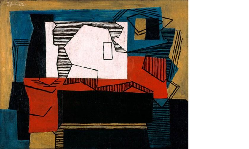 Pablo Picasso. Nature morte (Naturaleza muerta), 1922. © Sucesión Pablo Picasso, VEGAP, Madrid, 2020.