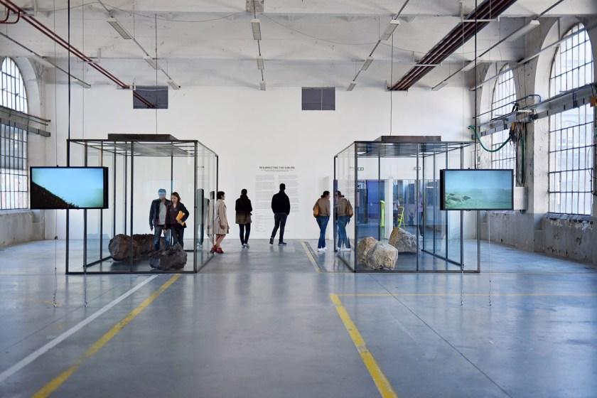 """Exposición """"Resucitando lo sublime"""" en la Biennale Internationale Design Saint-Etienne 2019. © C.Pierot"""