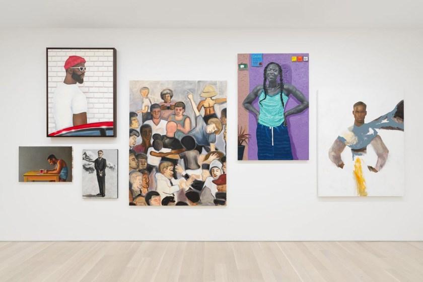 """Salon de la Peinture"" Almine Rech Gallery (New York)"