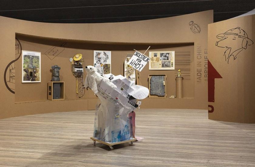 simon-fujiwara-who-the-baer-Fondazione-Prada-16