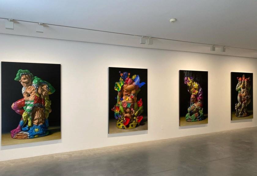 "Christian Rex van Minnen. ""Skin Bone Quinacridone Adrenochrome"" Galería Javier López & Fer Francés"