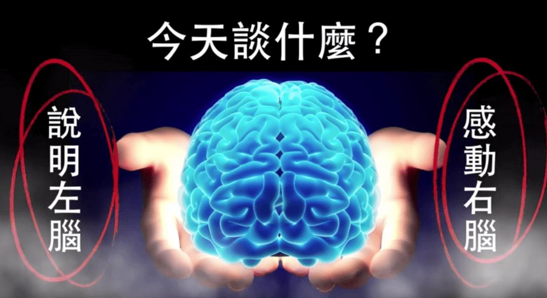 說明左腦 感動右腦(前導篇)