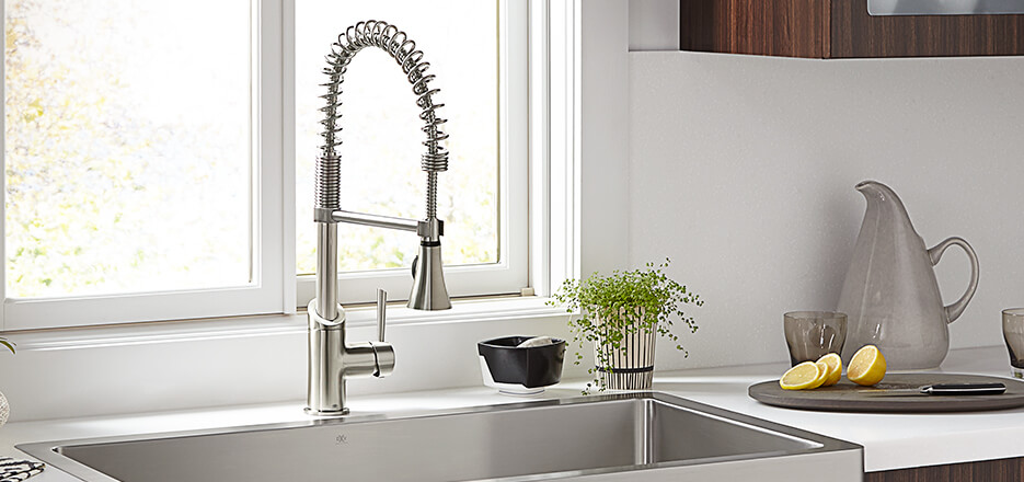 commercial pull down kitchen faucet countertops cheap faucets- dxv luxury faucets, bar faucets ...