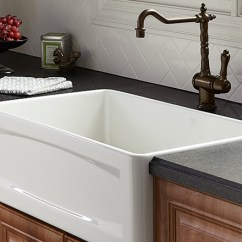 Kitchen Farm Sink Trash Can Sizes Sinks Dxv Luxury And Hillside Collection