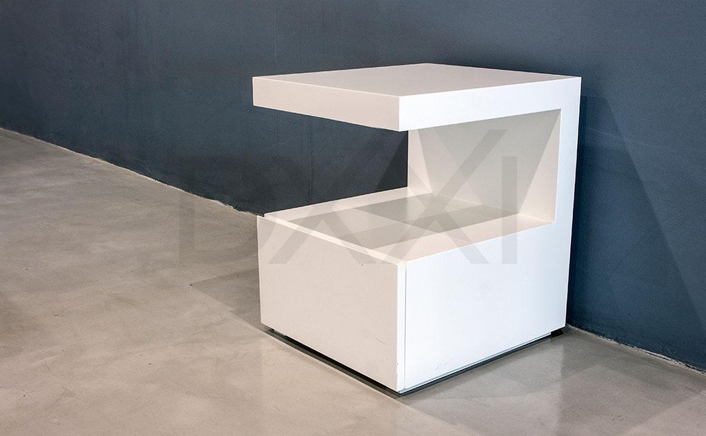 Mesa de luz C MDF laqueado  DXXI  Fbrica de muebles