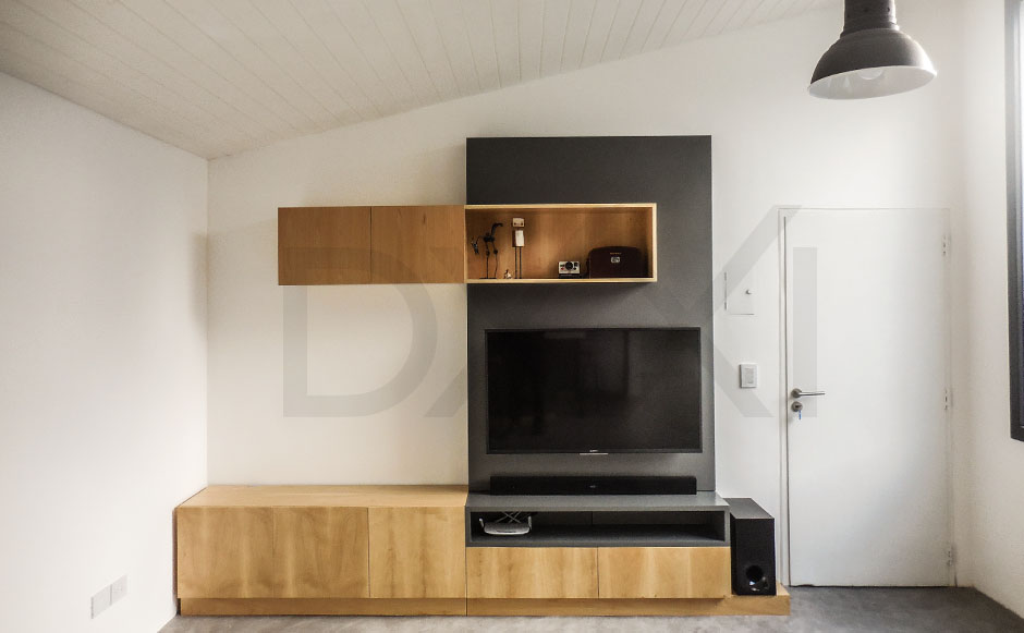 Mueble para TV modelo Jenga  DXXI fabrica y showroom en