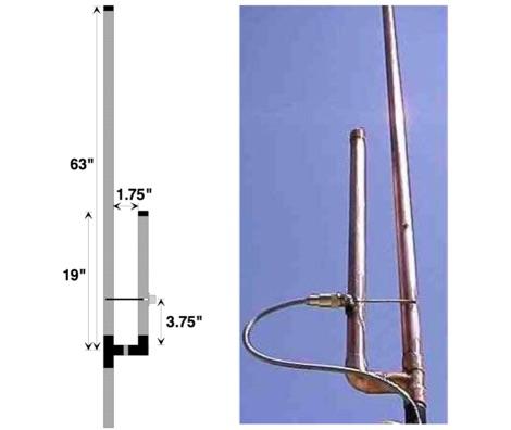 The simple 144/440 copper pipe J