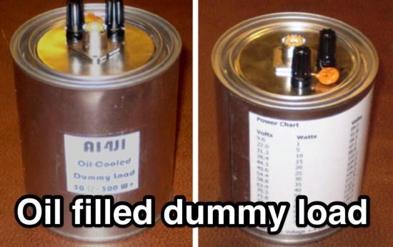 Oil filled dummy load