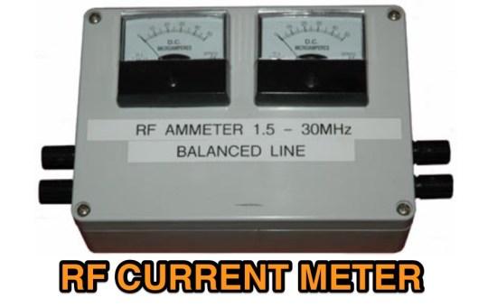 R.F. Current Meter