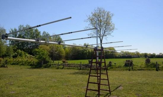 7 element Yagi Antenna for 50 MHz