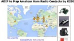 ADIF to Map Amateur Ham Radio Contacts by K2DSL