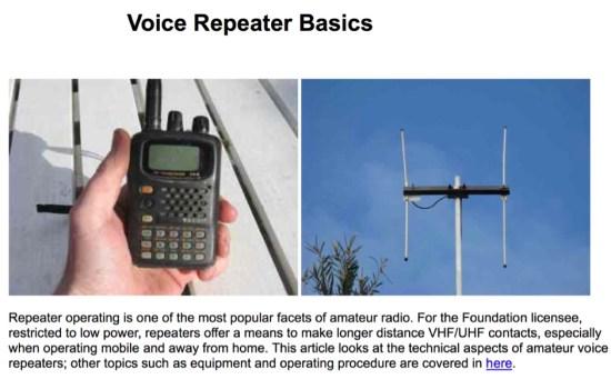 Voice Repeater Basics