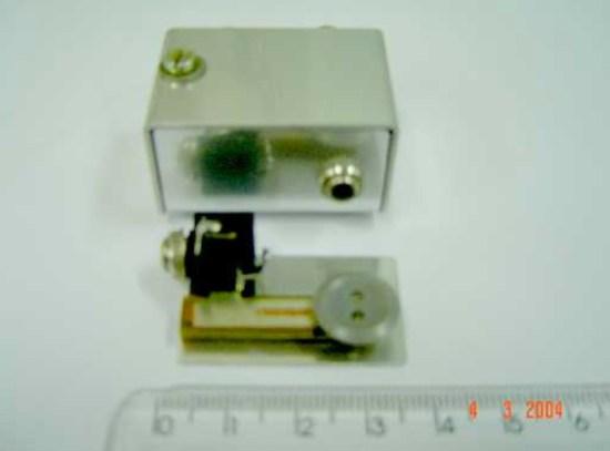 Mini CW key
