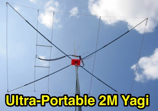 144MHz Pocket Portable Yagi