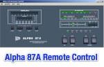 Alpha 87A Remote Control