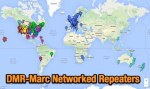 DMR  Repeaters Map
