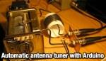 Arduino automatic antenna tuner