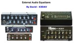 External Audio Equalizers