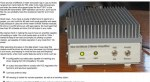 80W all mode VHF amplifier