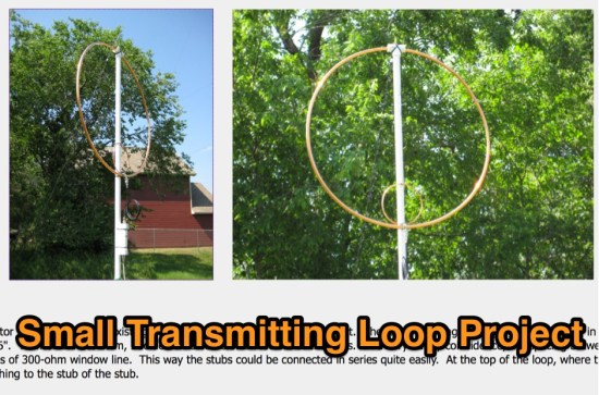 Small Transmitting Loop Project