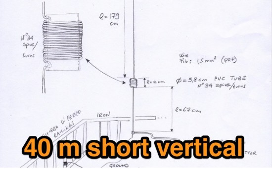 40 m short vertical
