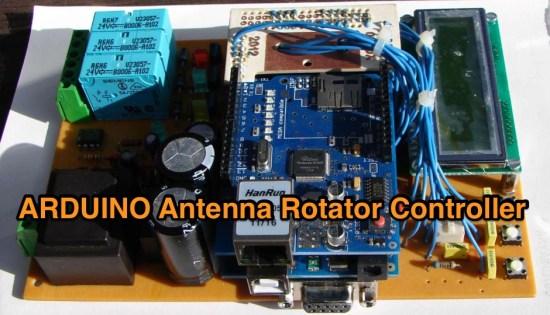 Arduino based antenna rotator controller