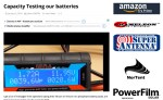 Capacity testing our batteries - How to