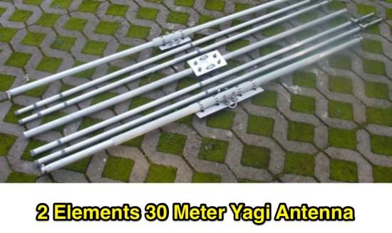 2 Element 30 meter Yagi Antenna