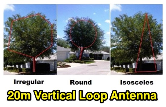 Vertical Full Wavelength Loop