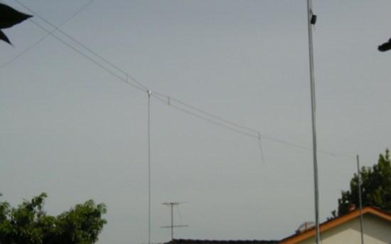 Half Wave Fan Dipole Antenna