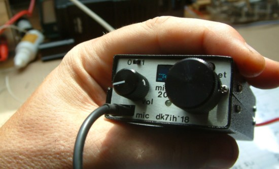 A Micro QRP Transceiver Project