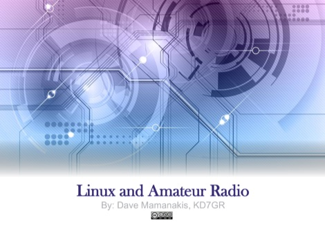 Linux and Amateur Radio - Presentation